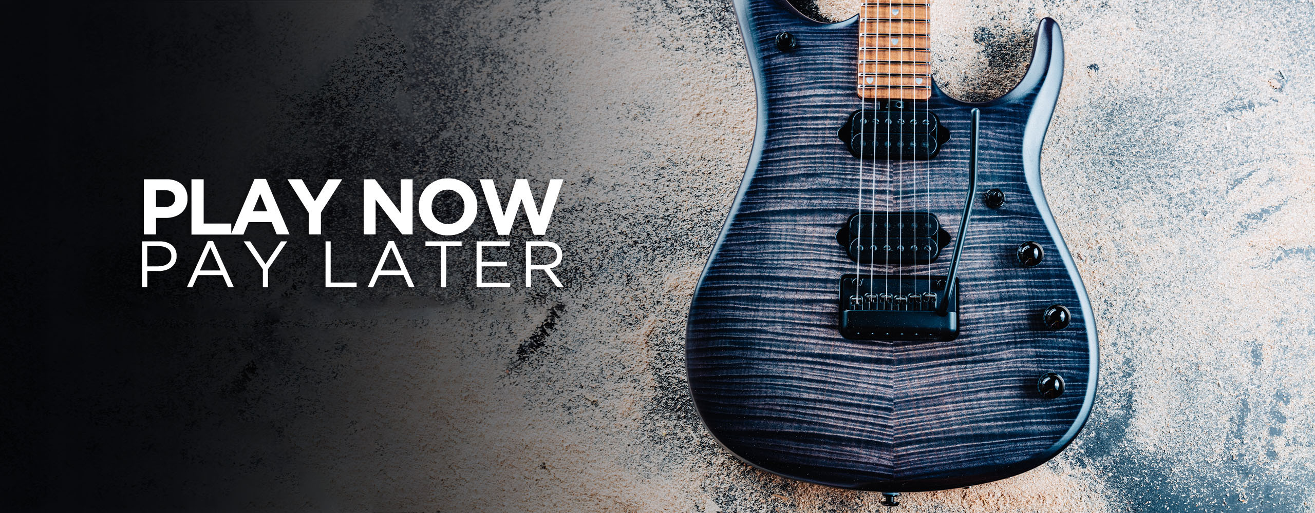 Ernie Ball Music Man Winter Financing Event